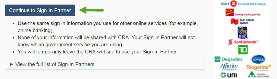 What Is The Cra My Account And How Do I Register For It H R Block Canada